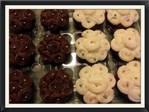 Rosette Flower Cupcakes